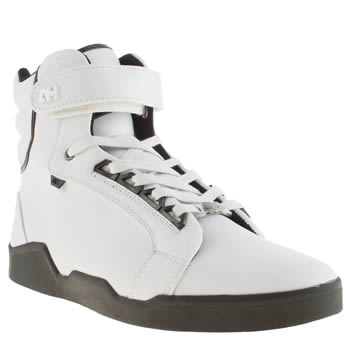 Android Homme White Ah Propulsion Hi 1-5 Trainers