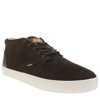 Mens Element Brown Preston Trainers