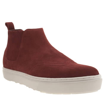 F Troupe Burgundy Gusset Boots