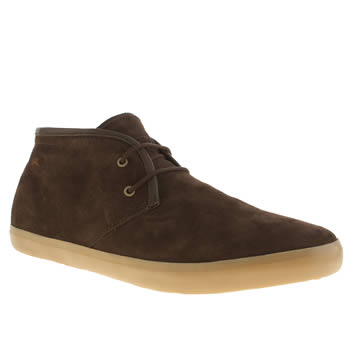 Camper Dark Brown Camp Mtlo Shoes