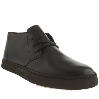 Mens Camper Black Cglo Trainers