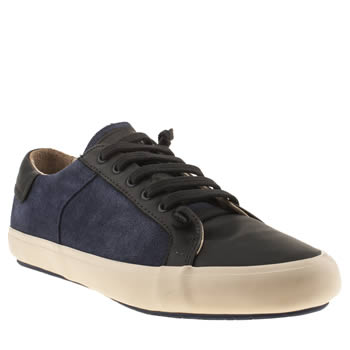 Mens Camper Navy Camp Clay Ox Shoes
