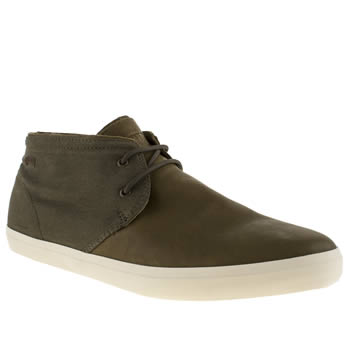 Camper Brown Mtlo Chukka Shoes