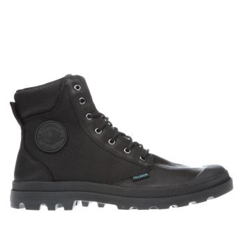 Palladium Black Pampa Sport Cuff Mens Boots