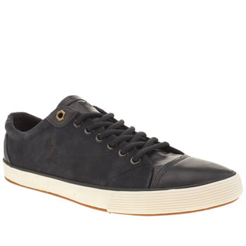 Polo Ralph Lauren Navy Klinger Trainers