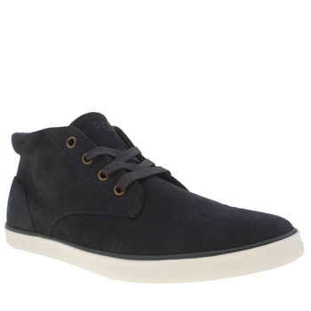 Polo Ralph Lauren Navy Odie Trainers