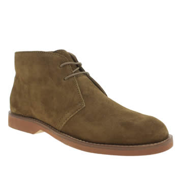 Mens Polo Ralph Lauren Brown Carsey Boots