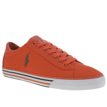 Polo Ralph Lauren Orange Harvey Mens Shoes