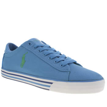 Polo Ralph Lauren Blue Harvey Shoes