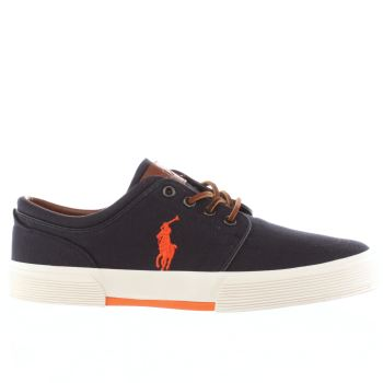 Mens Polo Ralph Lauren Navy Faxon Shoes