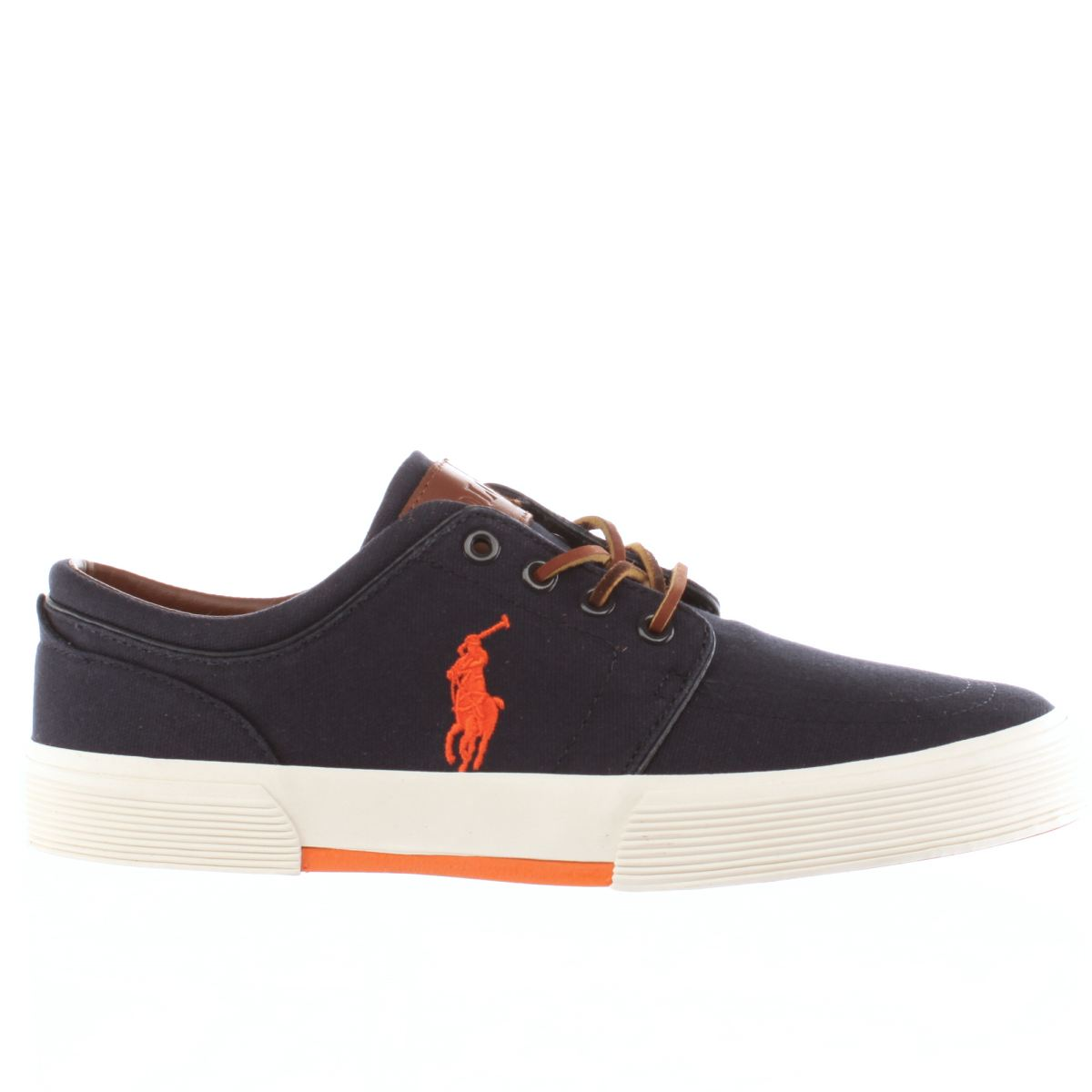 polo ralph lauren navy faxon shoes