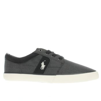 Polo Ralph Lauren Navy Halmore Ii Mens Trainers