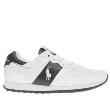 Polo Sport White Slaton Pony Mens Trainers