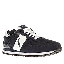 Polo Sport Navy & White Slaton Pony Trainers