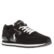 Polo Sport Black Slaton Pony Mens Trainers