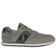Polo Sport Grey Slaton Pony Mens Trainers