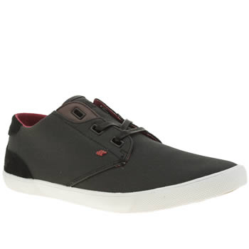 Mens Boxfresh Dark Grey Stern Trainers