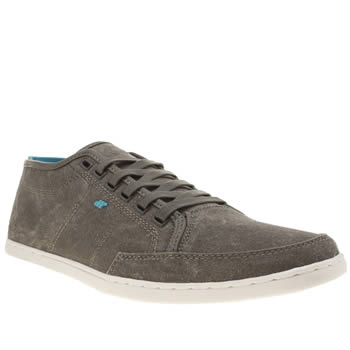 Mens Boxfresh Dark Grey Sparko Trainers