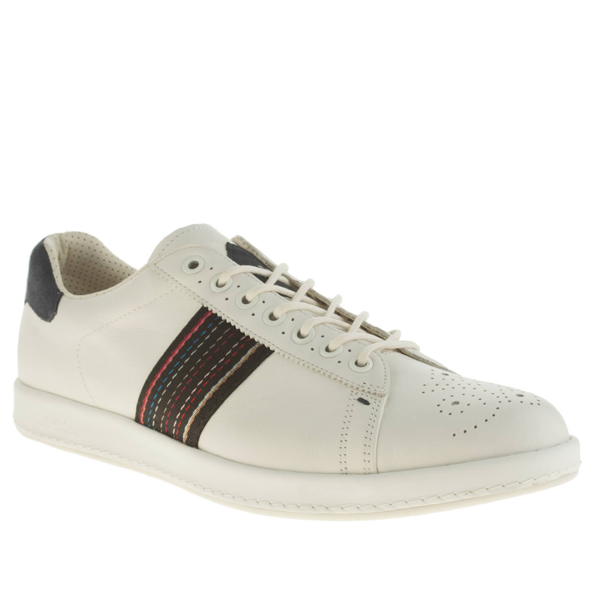 Paul Smith Shoes Paul Smith Shoes White & Navy Rabbit Trainers