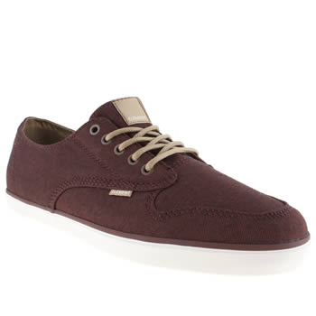 mens element burgundy topaz trainers