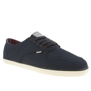mens element navy topaz suede trainers