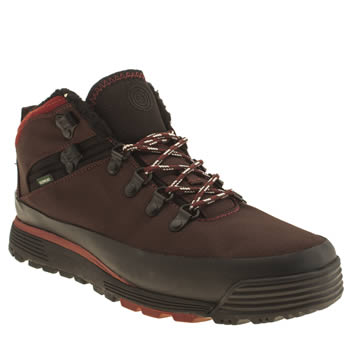 Mens Element Dark Brown Donnely Boots