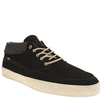 Mens Element Black Cheyenne Trainers