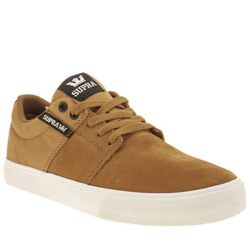 Supra Tan Stacks Vulc Ii Trainers