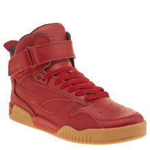Supra Red Bleeker Mens Trainers