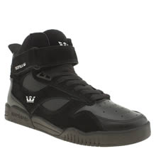 Supra Black Bleeker Mens Trainers