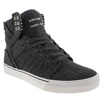 mens supra navy skytop trainers