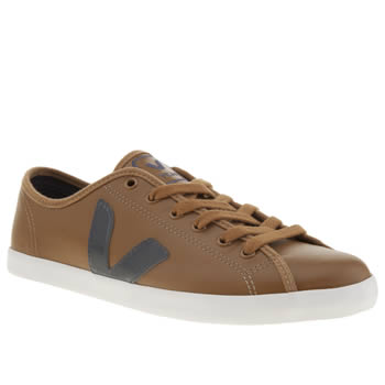 Mens Veja Brown Taua Trainers