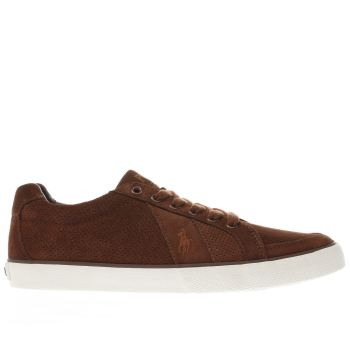 Polo Ralph Lauren Brown Hugh Mens Trainers