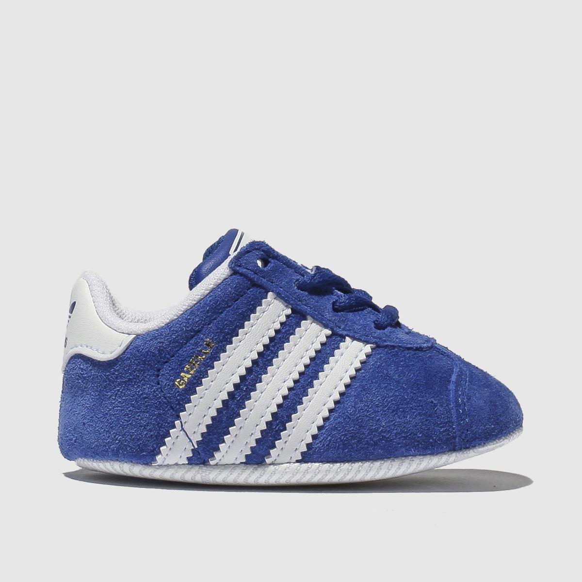 Adidas Navy Gazelle Crib Shoes Baby