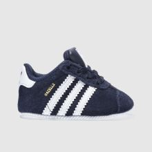 Adidas Navy & White Gazelle Crib Boys Baby
