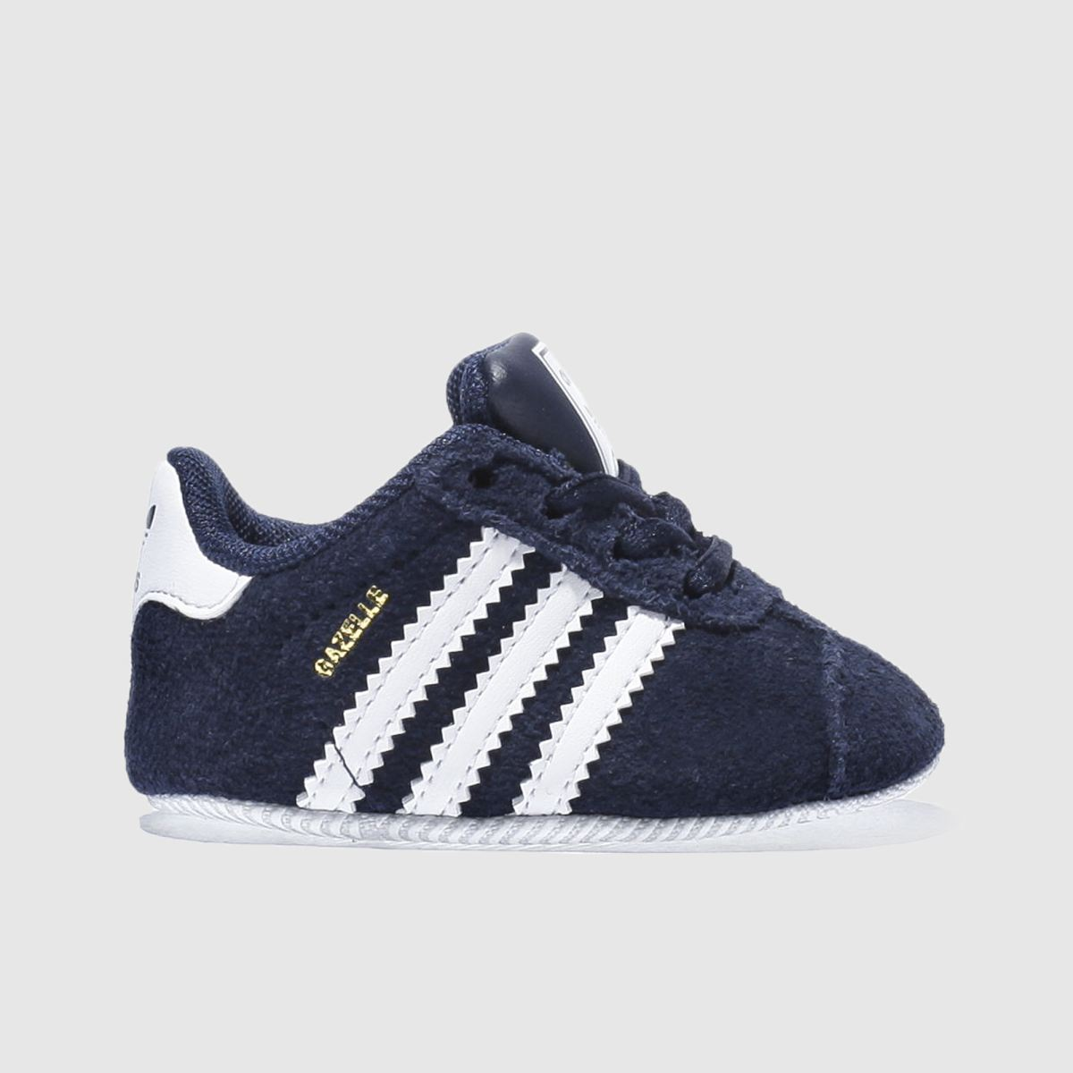 adidas navy & white gazelle crib Boys Baby Baby