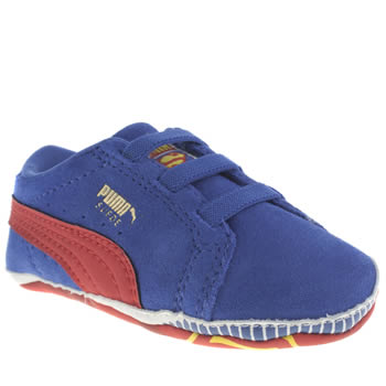 Boys Puma Blue Crib Pack Sde Superman Boys Baby