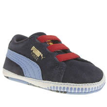 Puma Navy & Red Crib Pack Superman Boys Baby