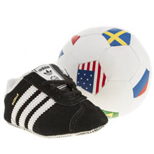 Crib Black Adidas Gazelle Wc Gift Set