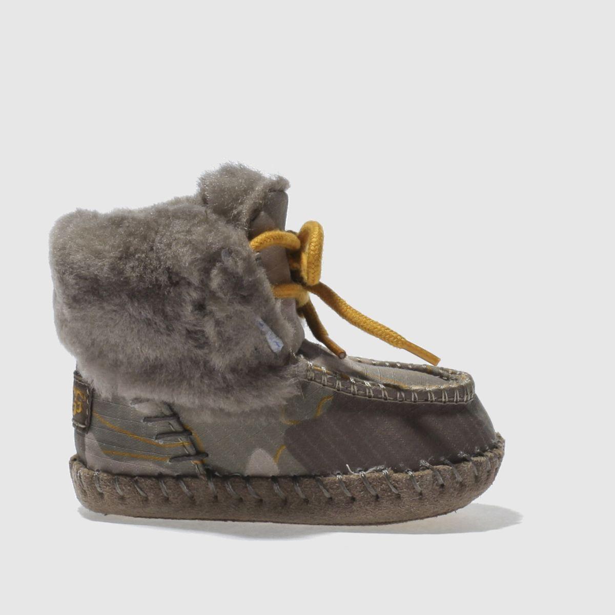 ugg khaki sparrow camo crib Boys Baby Boots