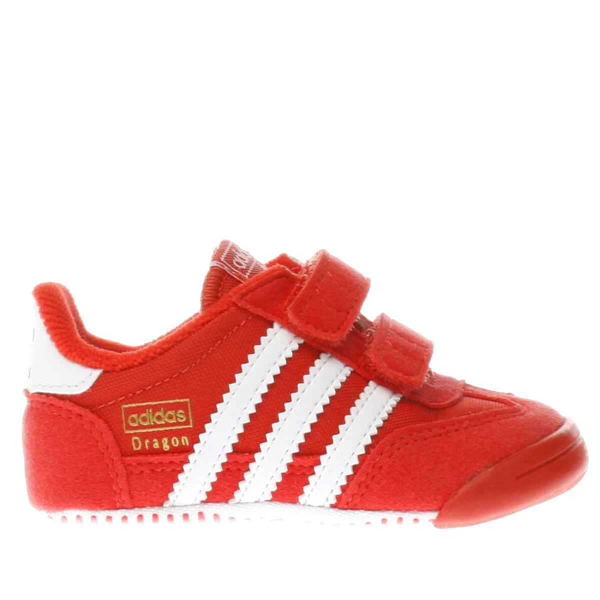 adidas red dragon Boys Baby Trainers