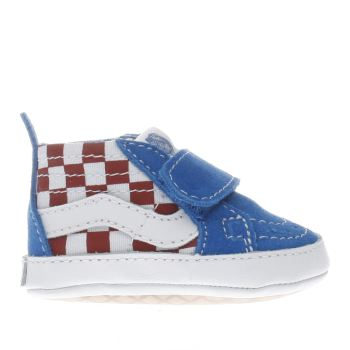 Vans Blue & Red SK8-HI Boys Baby
