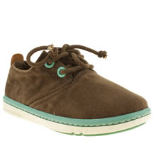 Toddler Brown Timberland Hookset Oxford