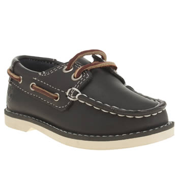 Timberland Navy Seabury 2 Eye Boat Boys Toddler