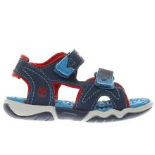 Timberland Navy & Red Adventure Seeker Boys Toddler