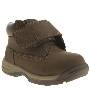Timberland Dark Brown Timber Tykes Boys Toddler