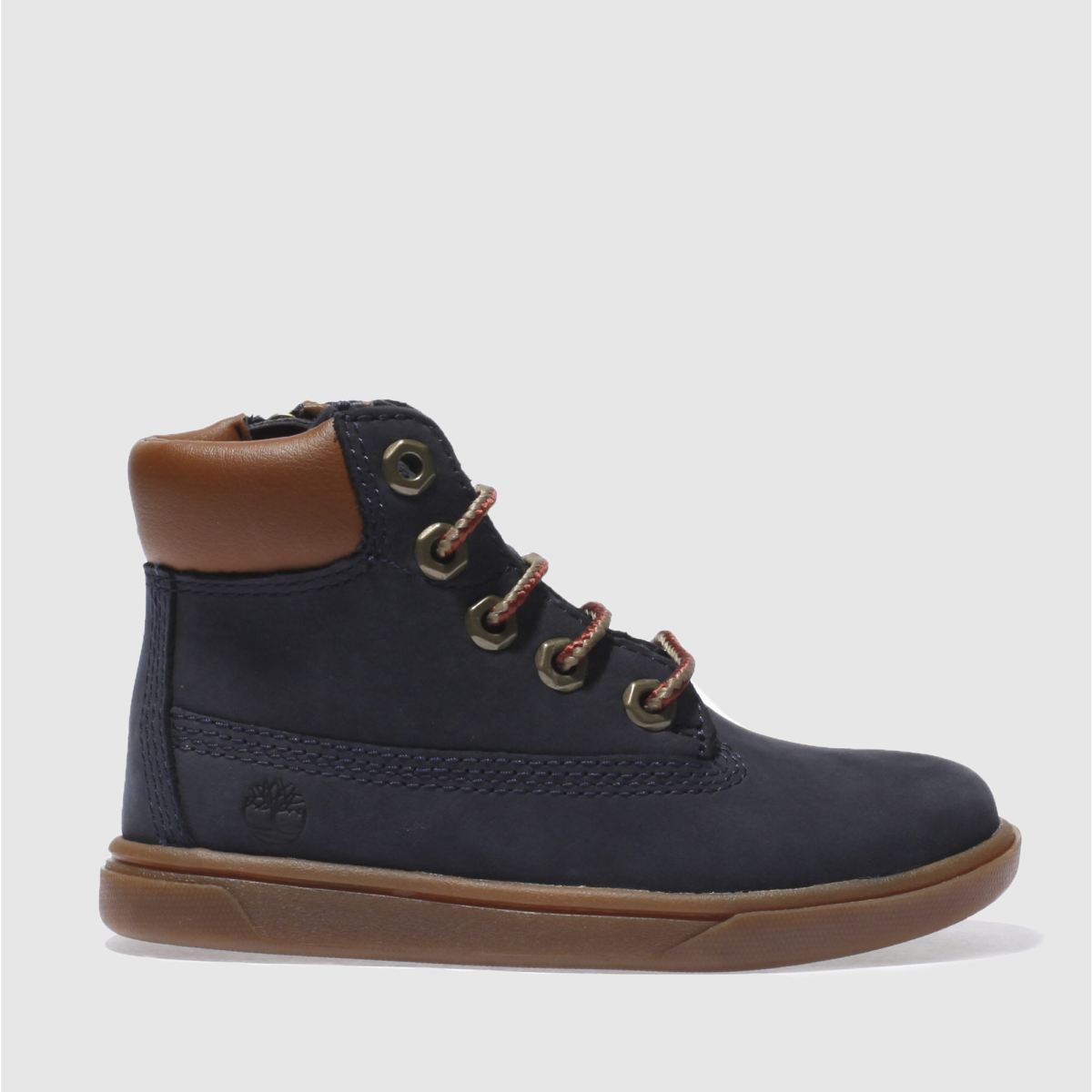 timberland navy groveton 6 inch Boys Toddler Boots