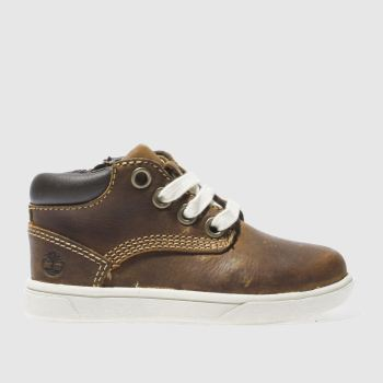Timberland Brown Groveton Chukka Boys Toddler