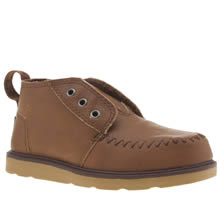 Toms Brown Chukka Boot Boys Toddler
