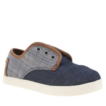 Toms Navy Paseo Boys Toddler